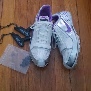 Nike track cleats